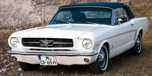 Ford Mustang 1965 mieten in München