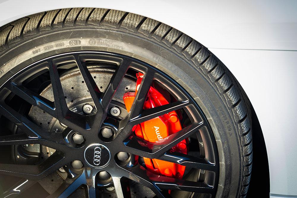 Felgen und Bremse Audi R8 V10