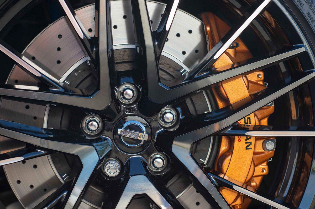 Nissan GT-R Felgen und Bremse