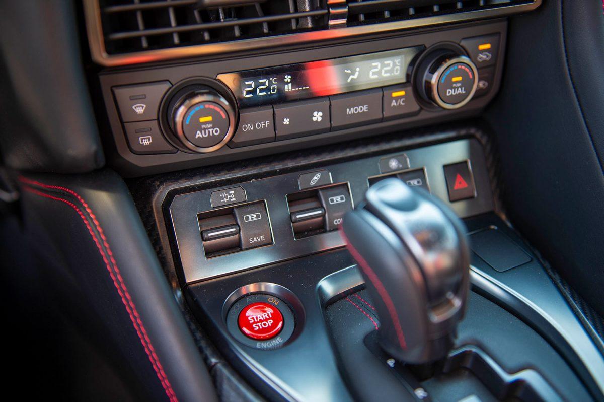 Nissan GT-R Konsole